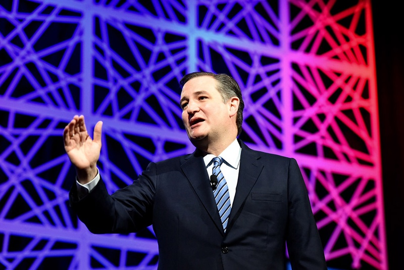 Former presidential candidate and U.S. Sen. Ted Cruz speaks at the state Republican convention in Dallas, Texas on May 14, 2016. Photo by Bob Daemmrich.