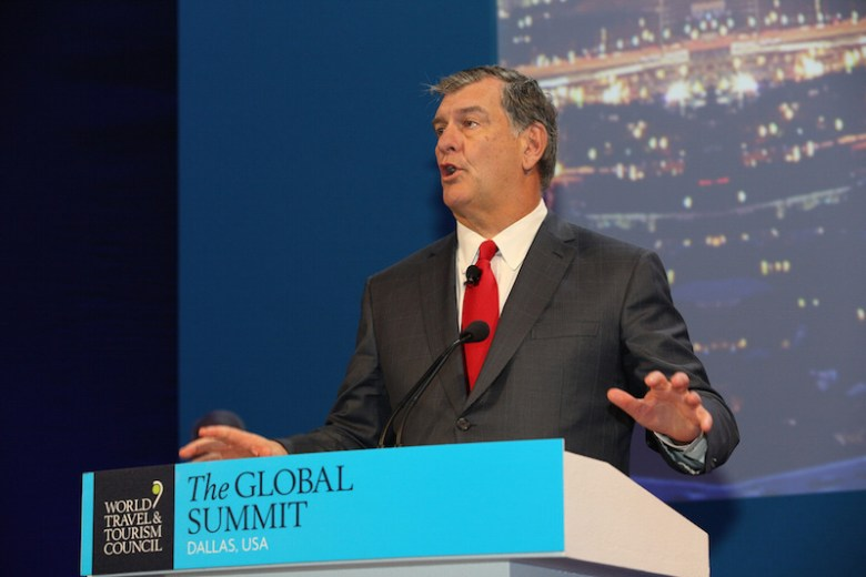 Dallas Mayor Mike Rawlings. Photo by the World Travel and Tourism Council on flickr.