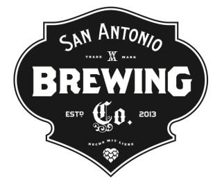 San Antonio Brewing Company's logo.