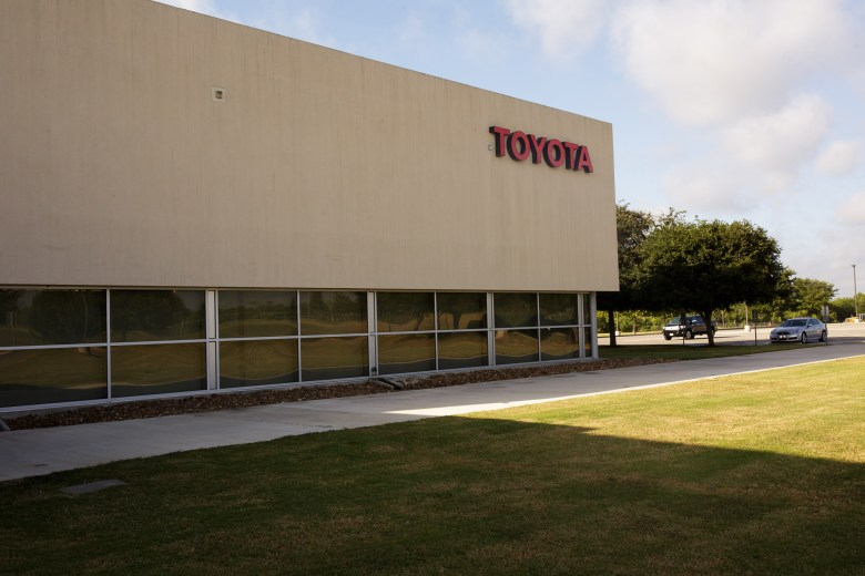 The Toyota Motor Manufacturing Visitor Center on the city's Southside. Photo by Scott Ball.