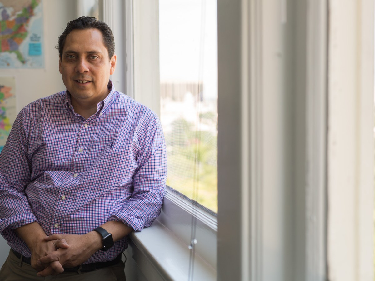 CEO of NEITEK Solutions Salvado Rosas. Photo by Scott Ball.