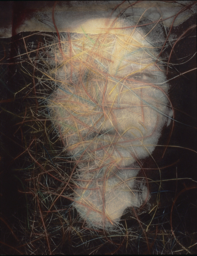 Self portrait by Kathy Vargas.