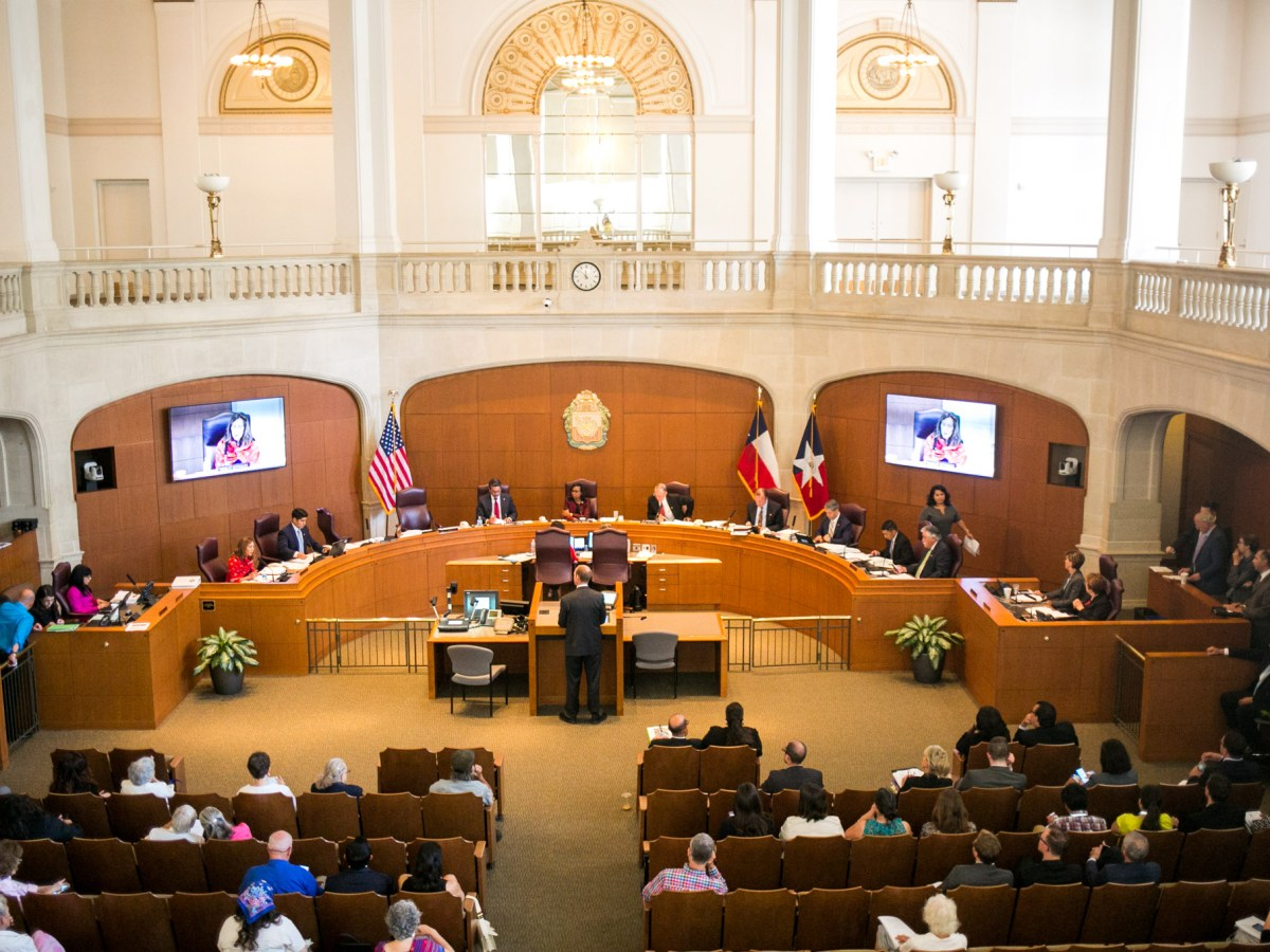 City Council discusses the SA Tomorrow comprehensive master plan on Aug. 11, 2016. Photo by Kathryn Boyd-Batstone.