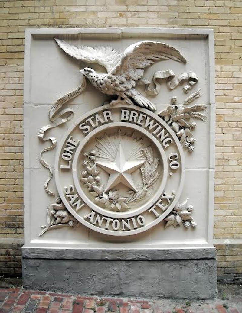 The Lone Star Brewing Company emblem.