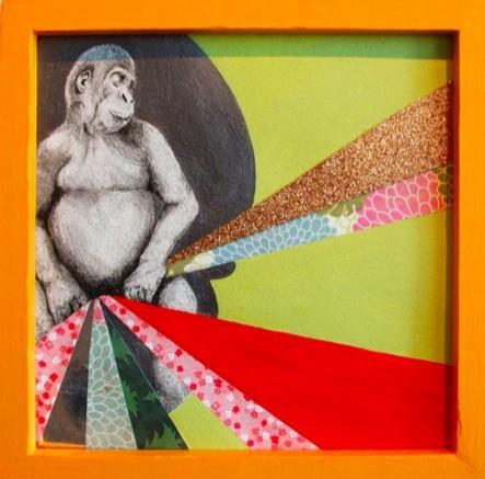 Mundane Moments 9 by Kaela Puente. Image courtesy of Ruiz-Healy Arts.