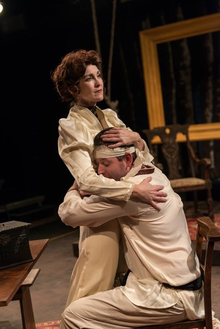 Kelly Hilliard Roush and Michael Holley in last season's The Seagull. Photo by Siggi Ragnar.