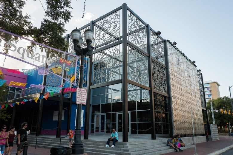Centro De Artes formerly known as Museo Alameda is a staple for Latino art. Photo by Scott Ball.