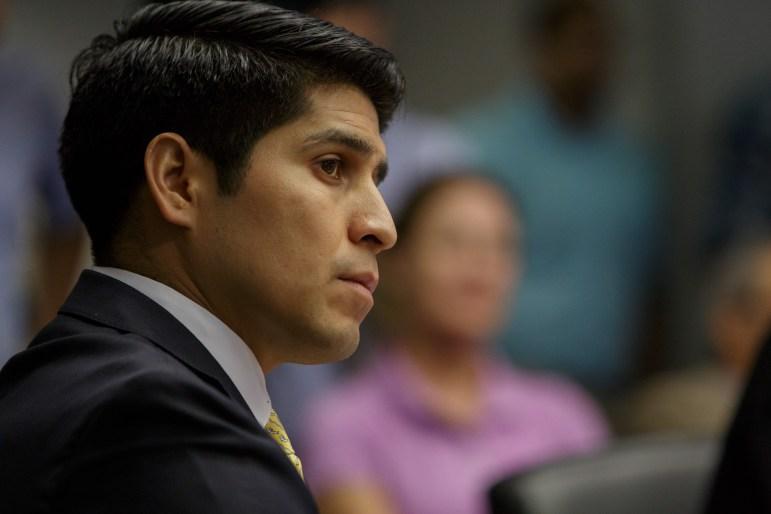 Councilman Rey Saldaña (D4). Photo by Scott Ball.