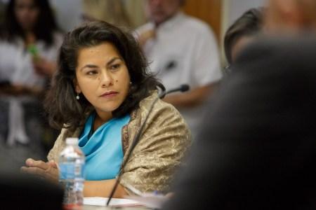 Councilwoman Rebecca Viagran (D3). Photo by Scott Ball.