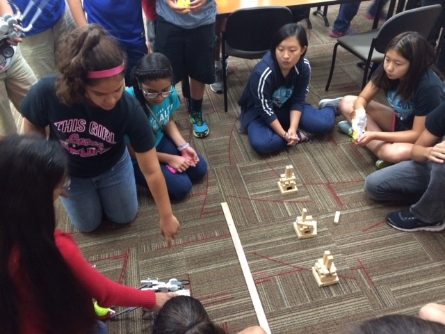 Toyota offers first robotics summer camp in 2016. Photo courtesy Toyota.