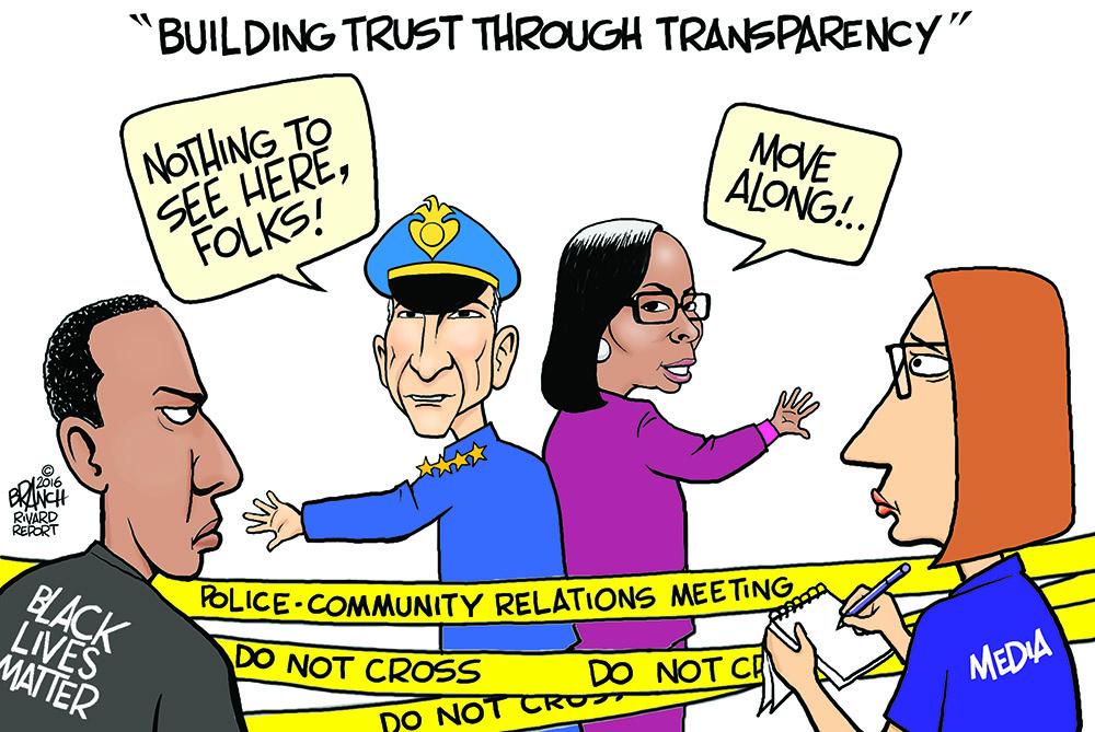 john branch police mayor community relations