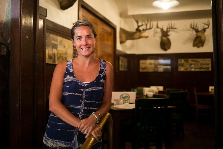 Schilo's Delicatessen Director of Marketing & Public Relations Elizabeth Lyons. Photo by Kathryn Boyd-Batstone.