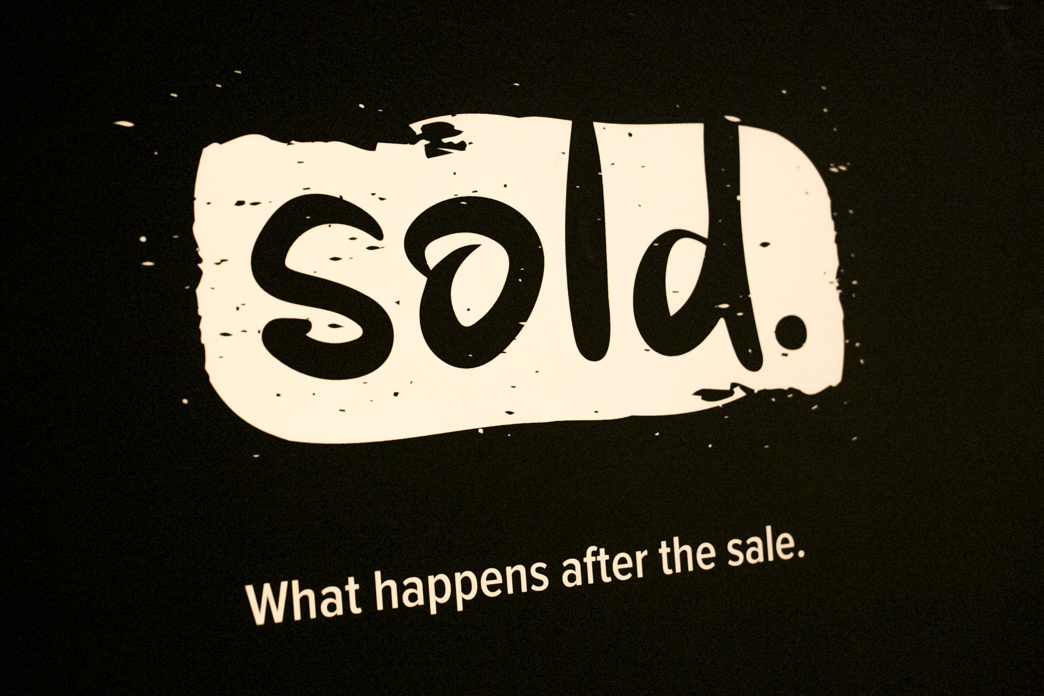 Sold is a a community based organization for professional sales people in tech. Photo by Kathryn Boyd-Batstone.