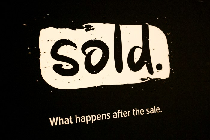 Sold is a a community-based organization for professional sales people in tech. Photo by Kathryn Boyd-Batstone.