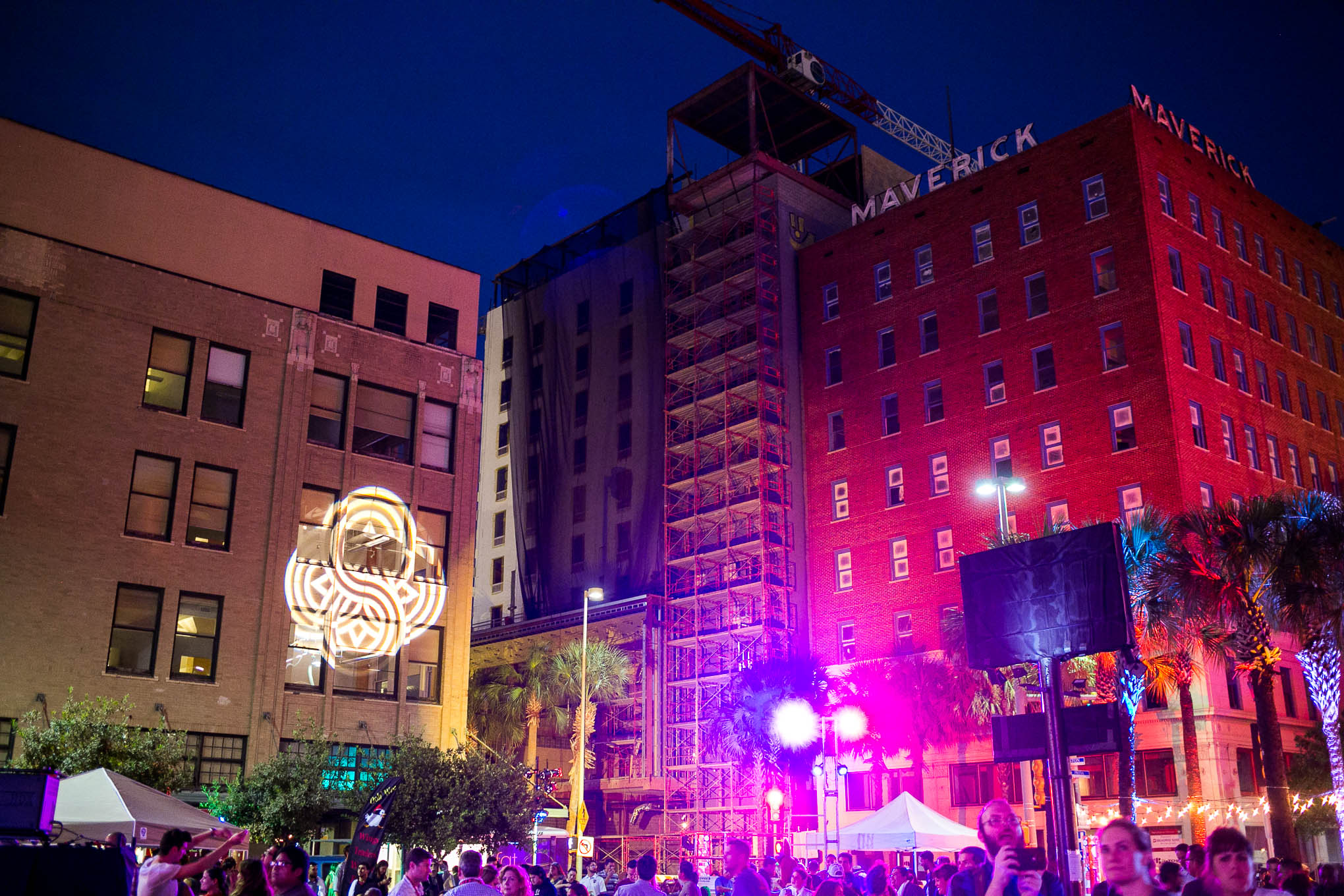 The new brand launch drew hundreds of people to the San Antonio downtown core. Photo by Kathryn Boyd-Batstone.