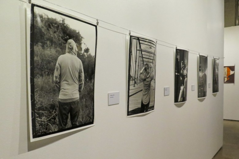 Photographs by artist Tess Martinez are displayed at Centro de Artes. Photo by Rocío Guenther.
