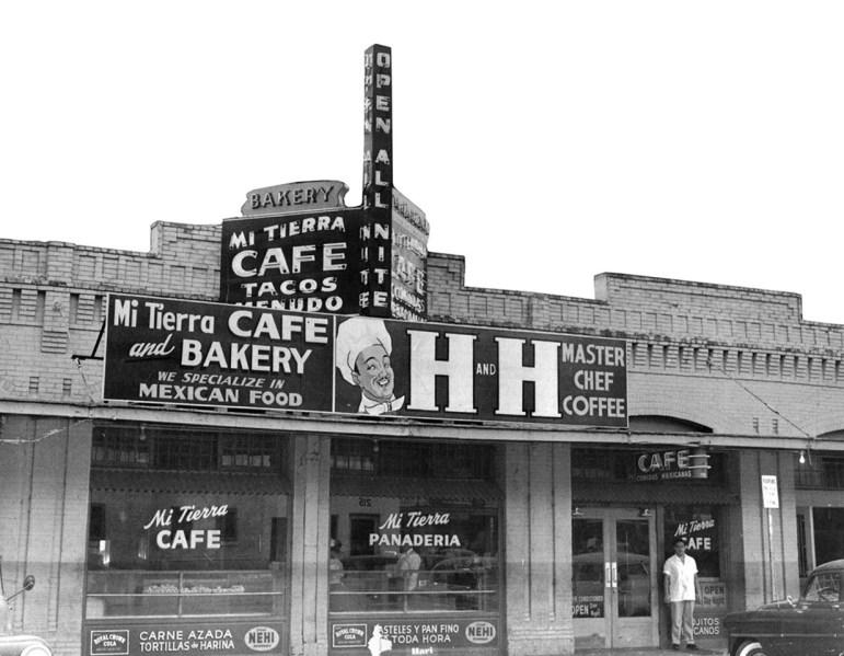 Mi Tierra in 1951. Photo courtesy of Mi Tierra Panadería & Café.