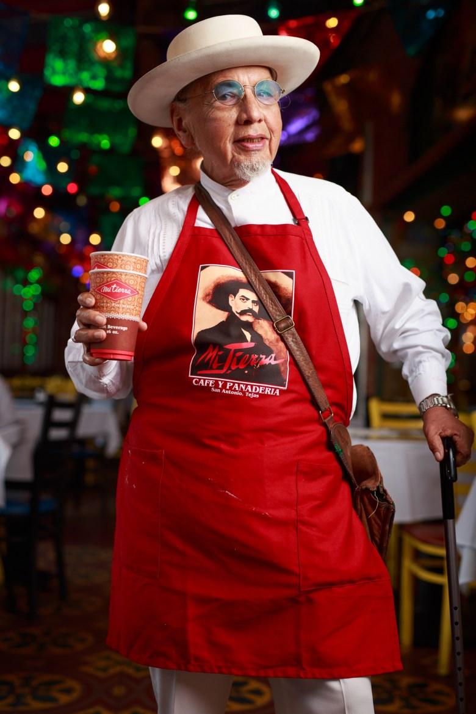 Jorge Cortez has served Mi Tierra for 65 years. Photo by Scott Ball.