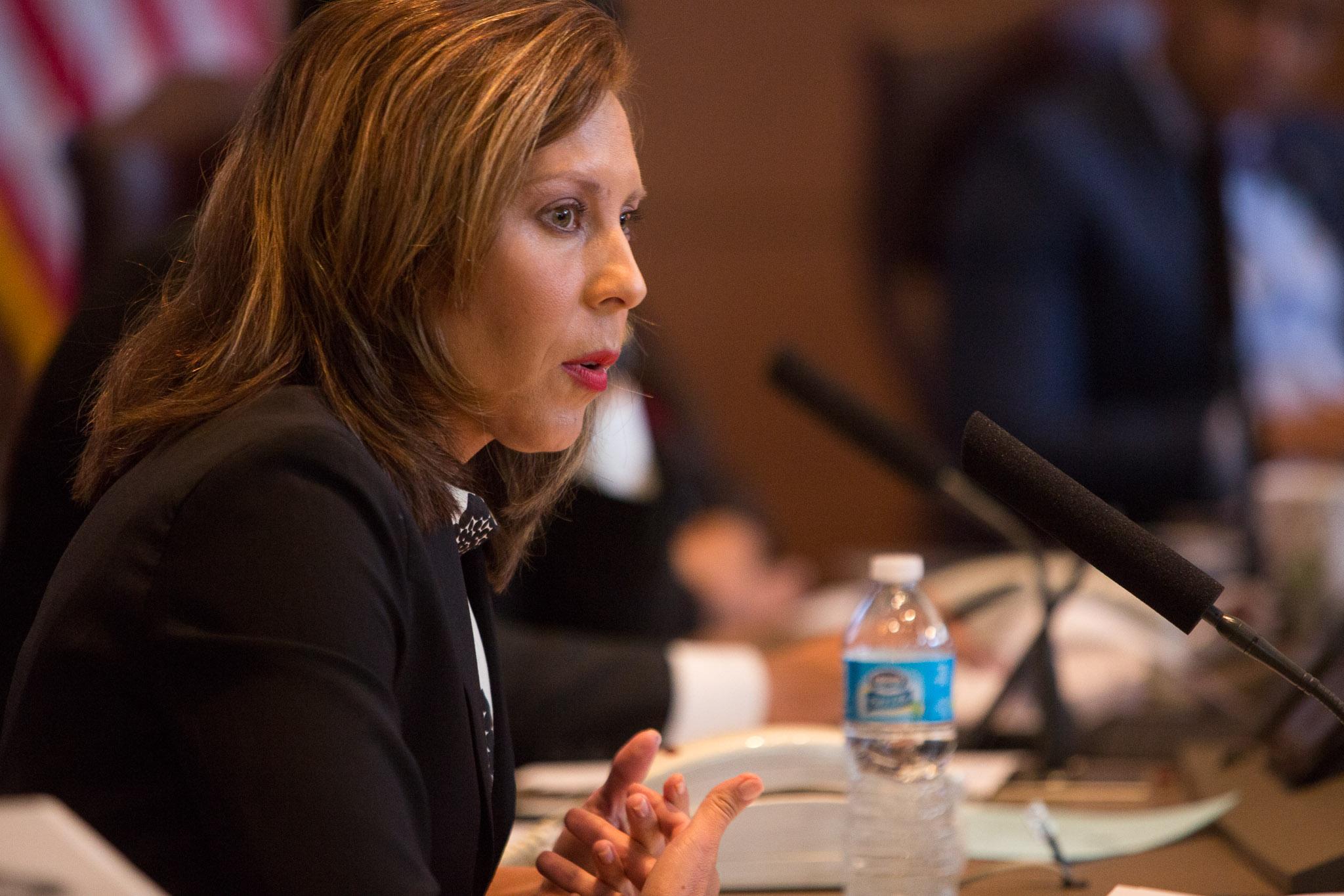 Councilwoman Shirley Gonzales (D5). Photo by Scott Ball.