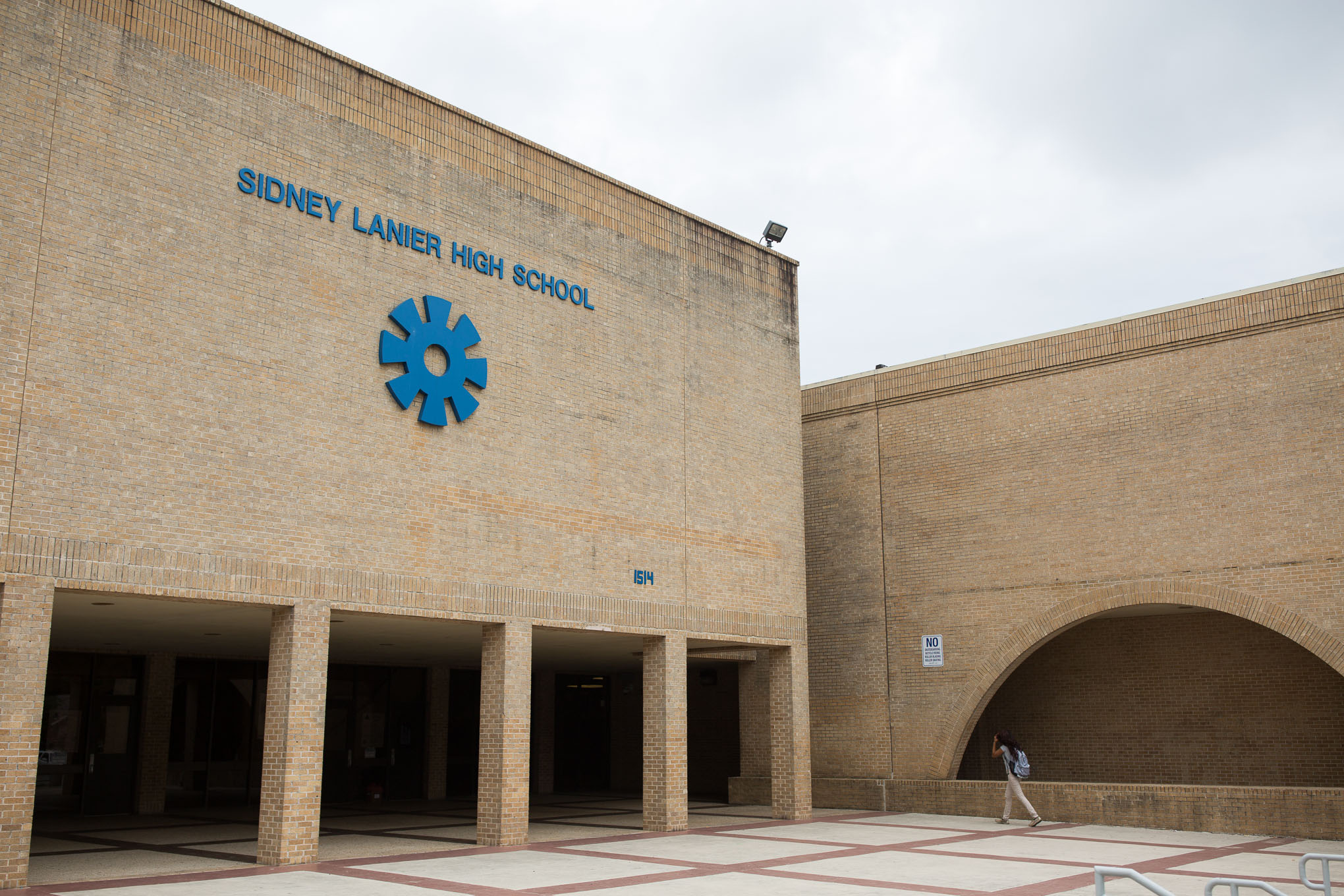 Lanier High School on the city's near Westside. Photo by Scott Ball.