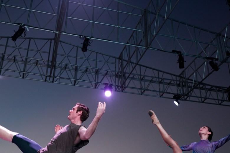 Ballet dancers perform during Las Fundaciones de Béjar. Photo by Scott Ball.