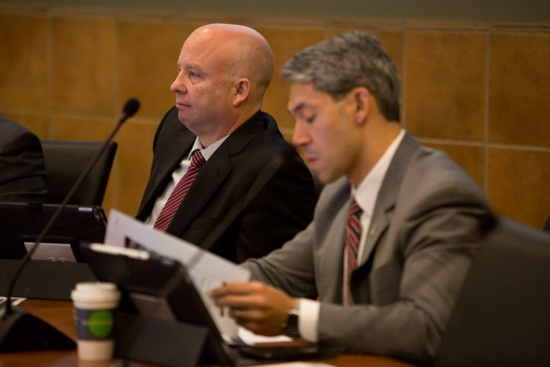 Bexar County Commissioner Kevin Wolff (P2). Photo by Scott Ball.
