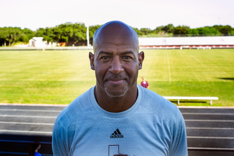 Former NFL wide receiver Henry Ellard now coaches at San Antonio Christian High School.