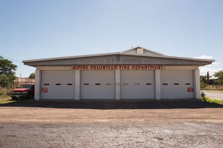 Alpine Volunteer Fire Department located on East Holland Avenue.