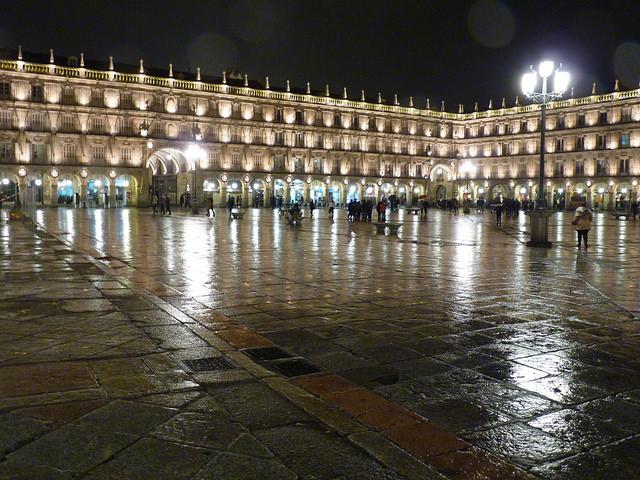 Plaza Mayor in Salamanca, Spain. Photo by Damian Entwistle via Flickr.
