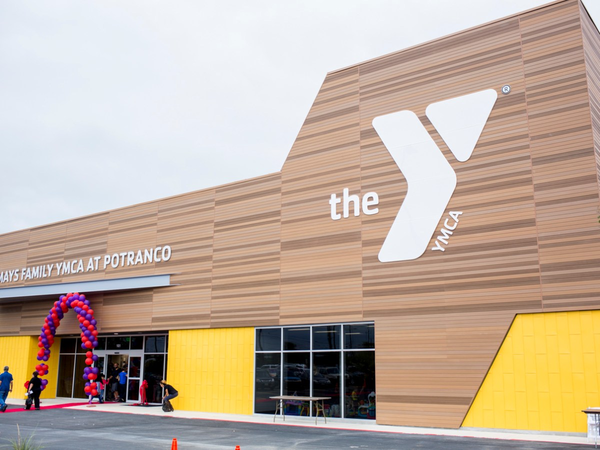 The new Mays Family YMCA at Potranco. Photo by Kathryn Boyd-Batstone.