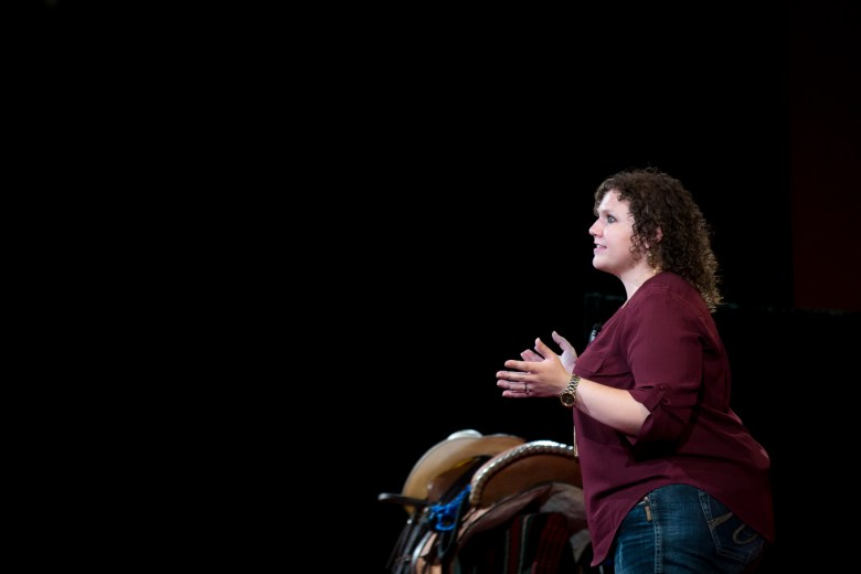 Stephanie Scheller speaks about her the life lessons she has learned from her horses.