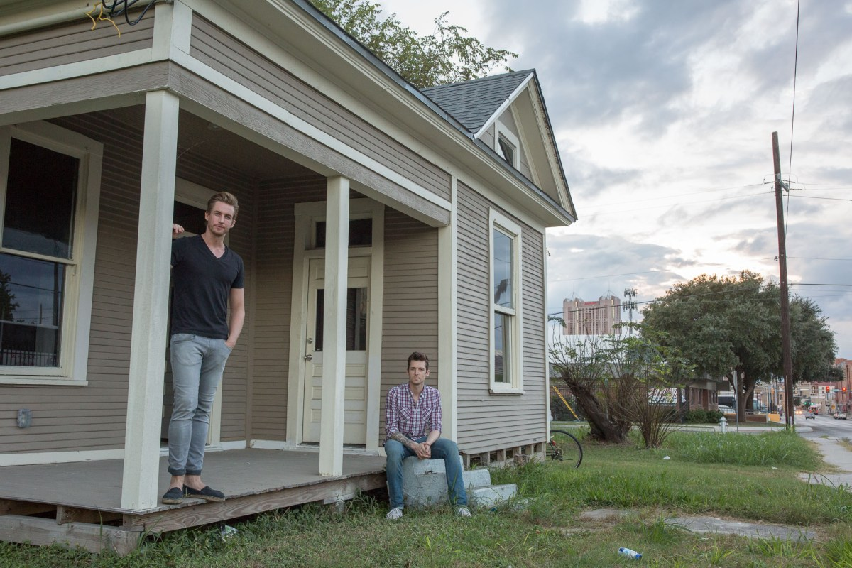 Brothers Maxim (left) and Jean-Luc (right) Mette will turn an old Eastside home into a small neighborhood bar.
