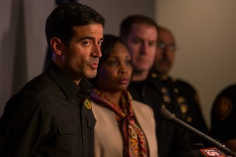 Bexar County District Attorney Nico LaHood responds to questions to what the criminal will be charged if convicted.