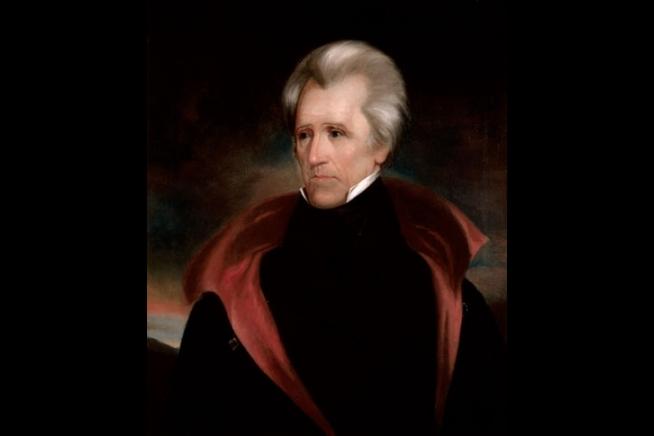 Portrait of Andrew Jackson by Ralph E.W. Earl, c. 1835.