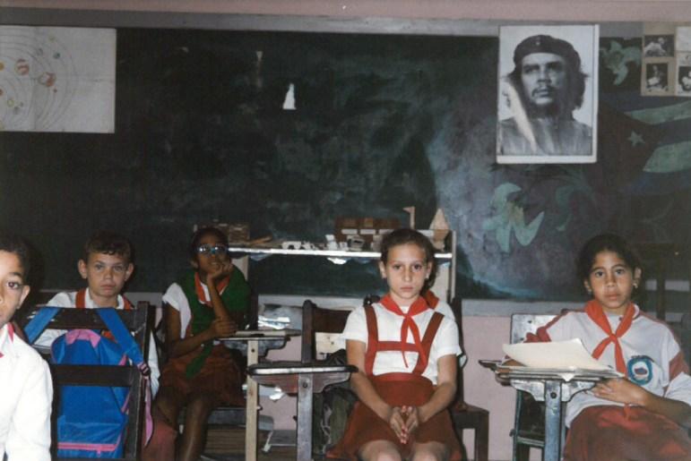 Children in an elementary school in rural Cuba.
