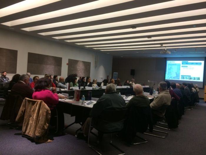 The City's Neighborhood Improvements Bond Committee meets for the final time at the Central Library.