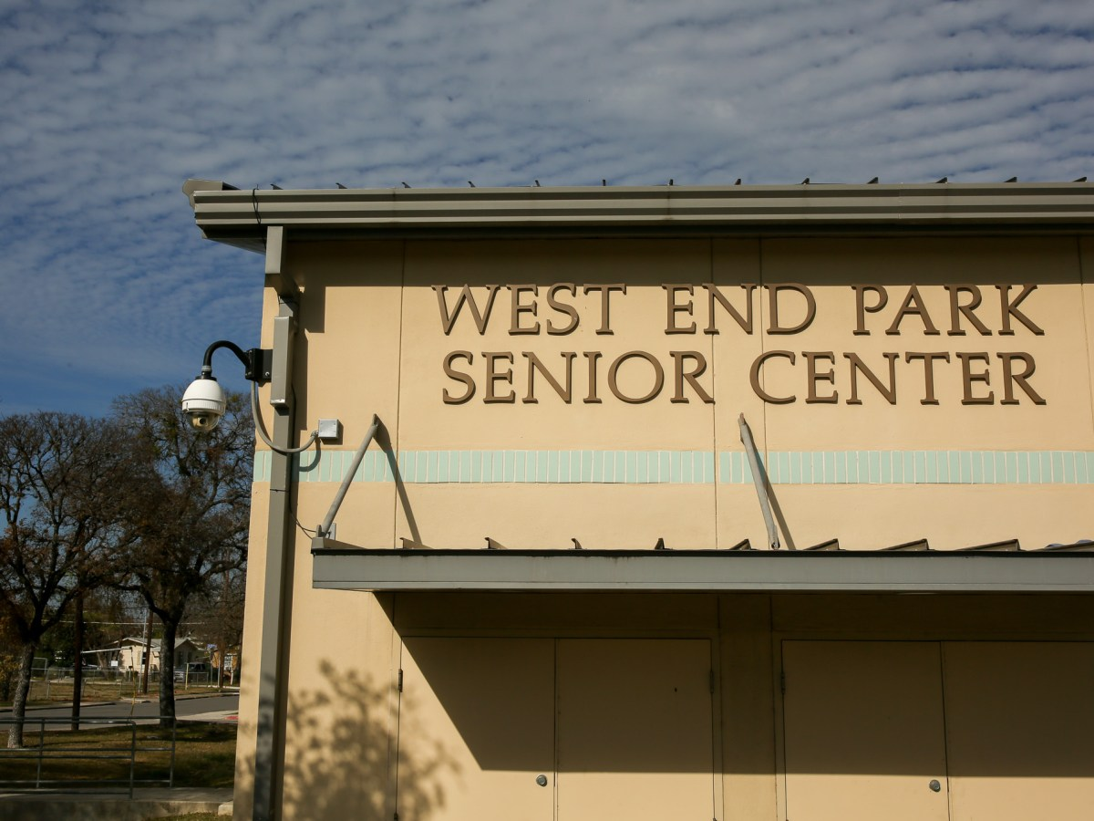 The West End Park Senior Center located directly next to the Google Fiber hut.