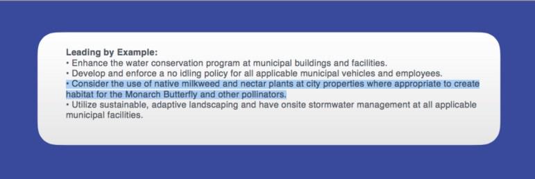 SA Tomorrow Plan milkweed reference
