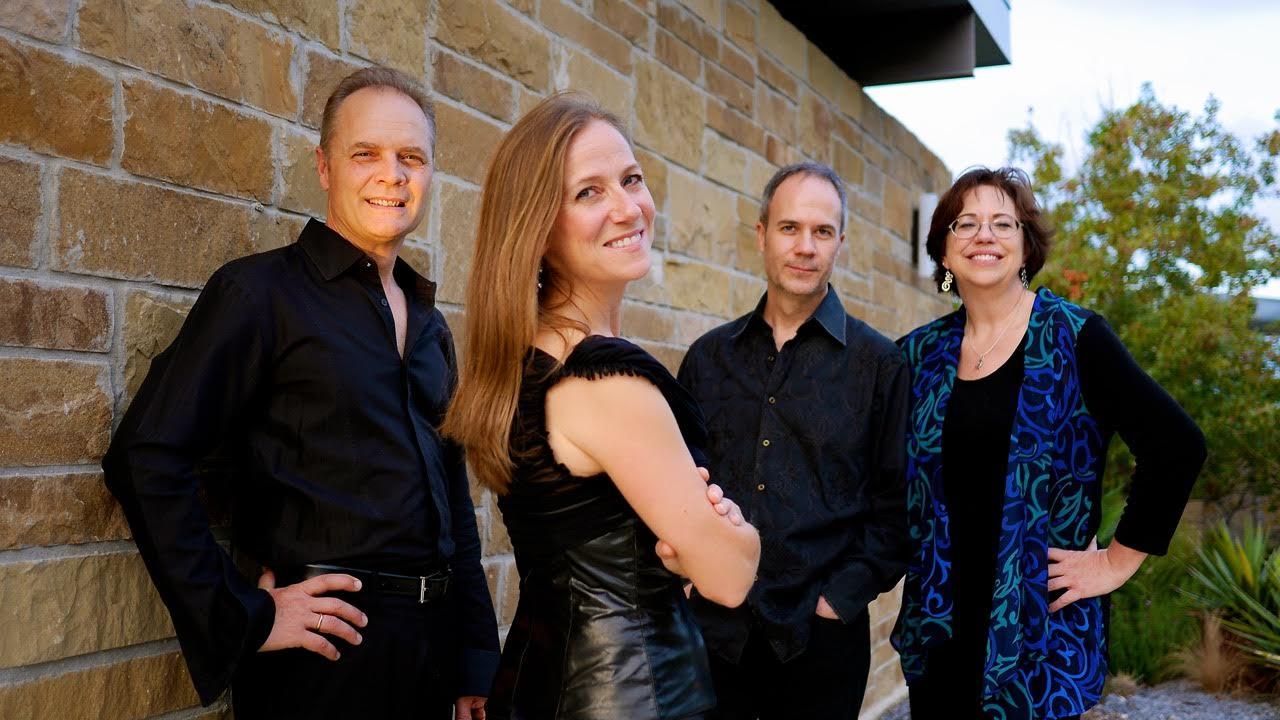 The members of SOLI (from left) cellist David Mollenauer, clarinetist Stephanie Key, violinist Ertan Torgul, pianist Carolyn True.