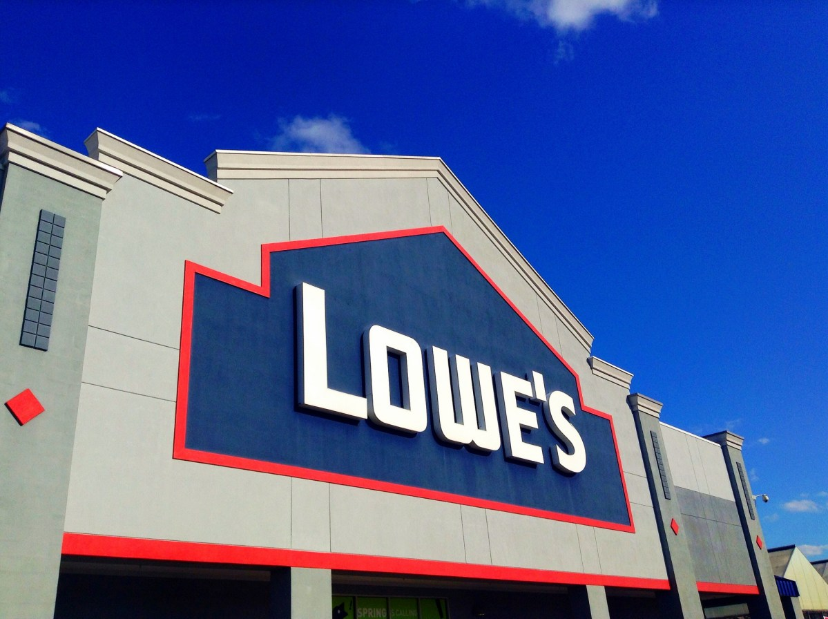 Lowe's Home Improvement Center.