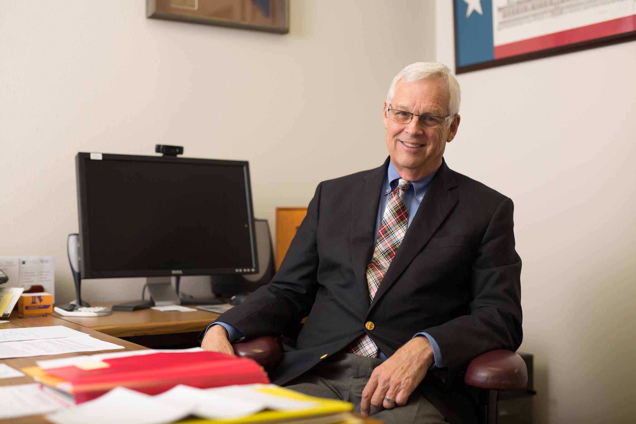 Alamo Colleges Chancellor Bruce Leslie