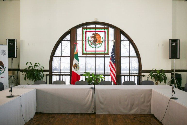 The Mexican Consulate of San Antonio.