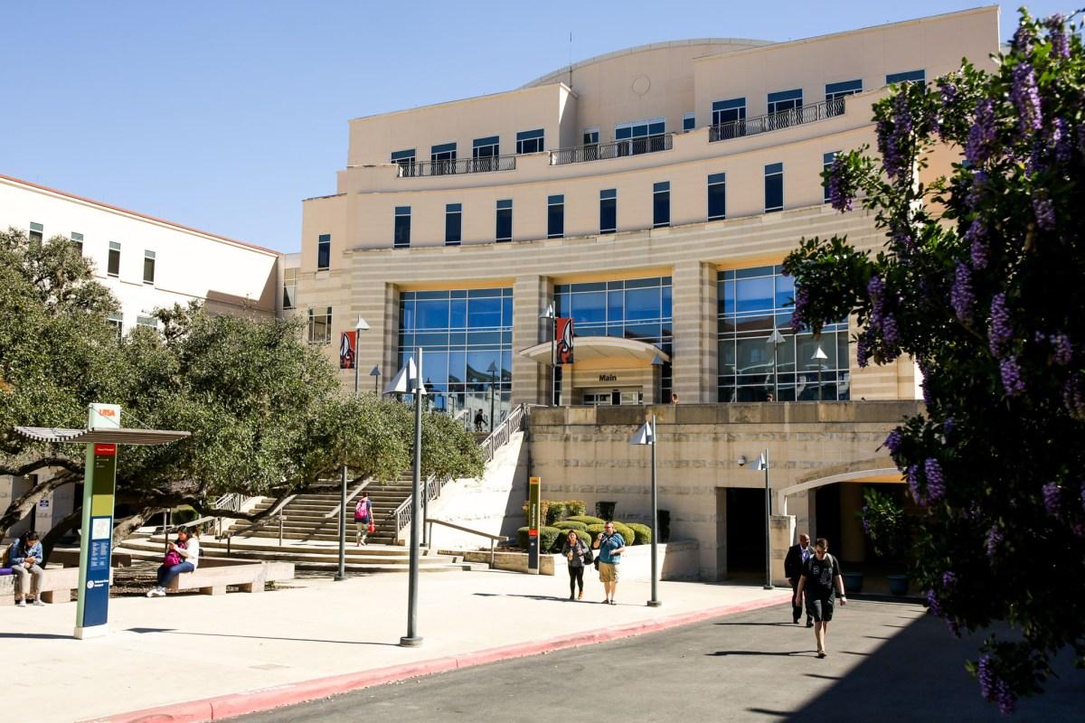 The UTSA main campus on the city's Northside.