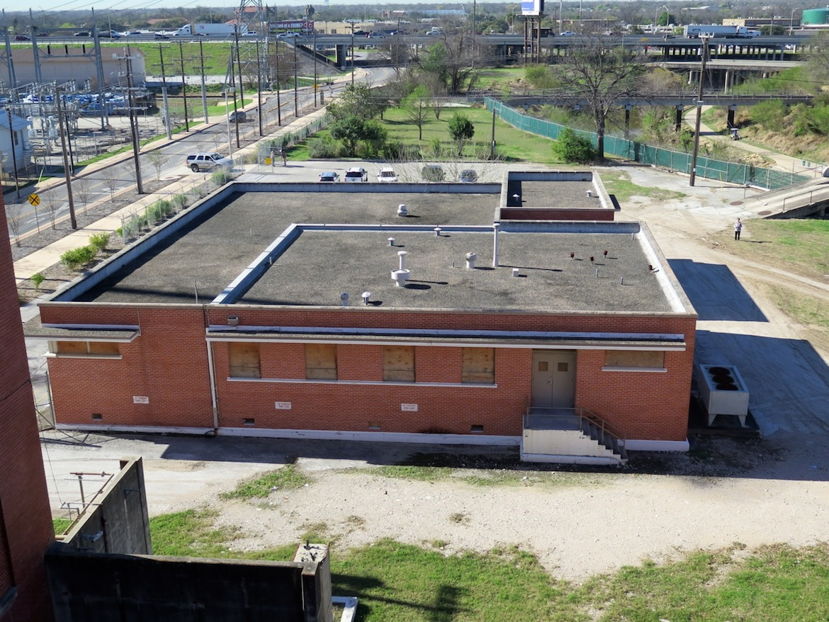 This non-historic, brick building will likely be demolished, EPIcenter officials said.