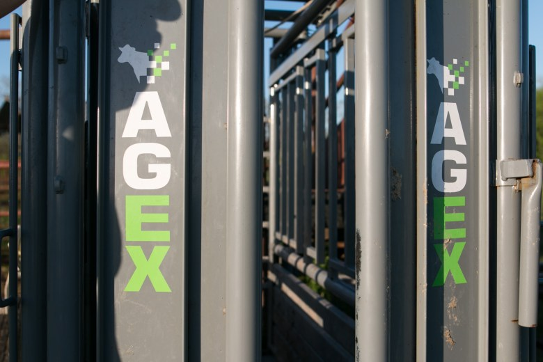 An Agex machine sits on El Capote Ranch.