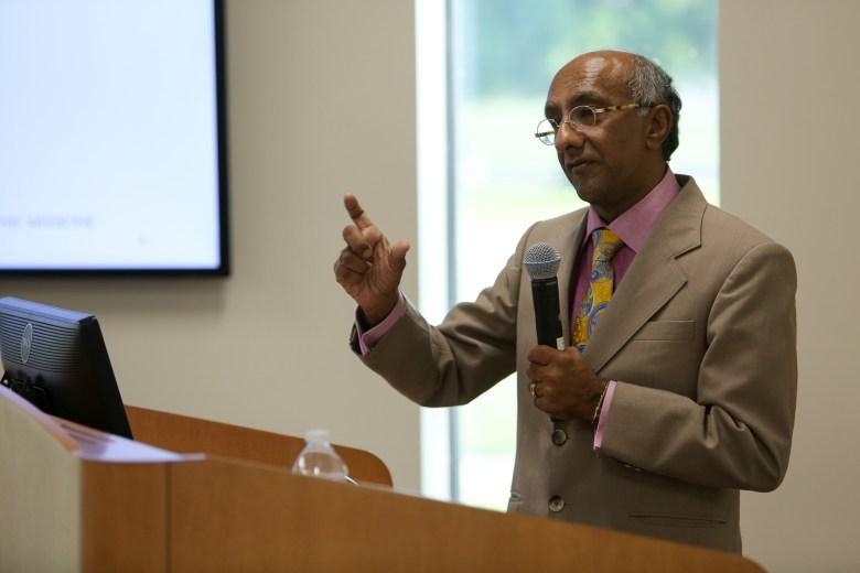 Director of Health Collaborative Dr. Anil Mangla.