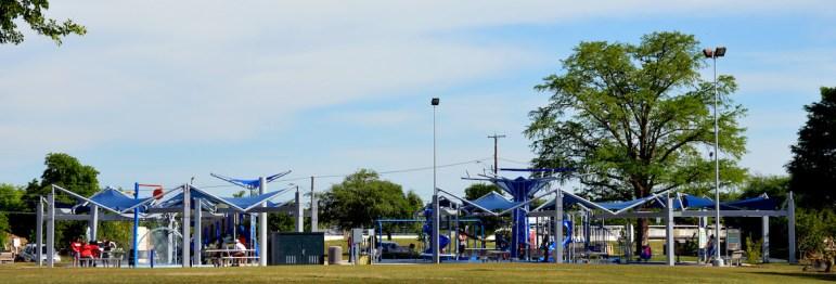 New children's playground.