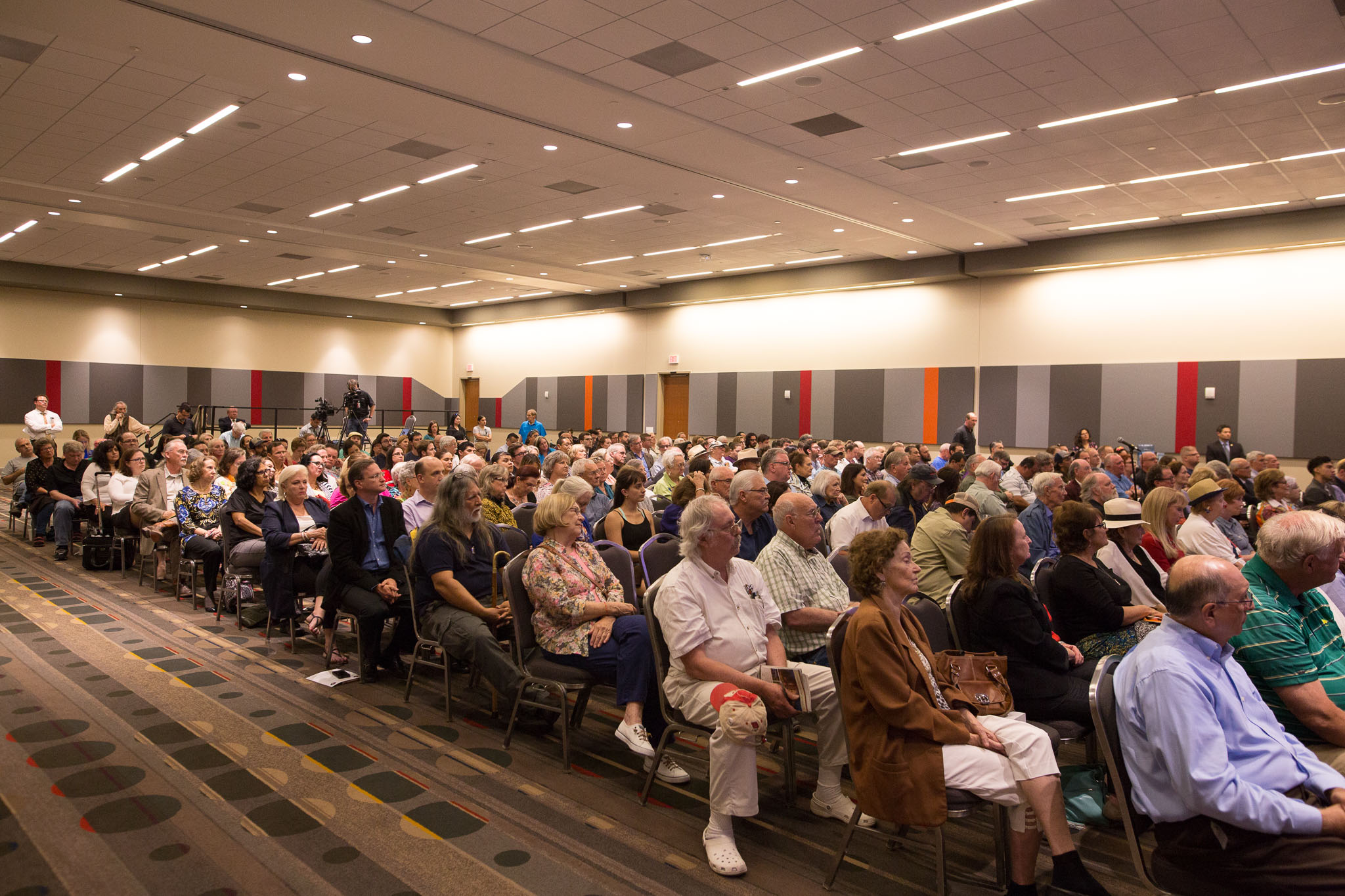 Over 300 community members attended the Alamo Master Plan Design public meeting.