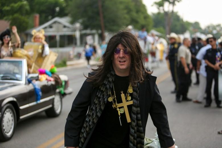 Gavin Rogers as Ozzy Osbourne.
