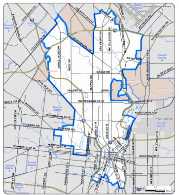 District 1 Council map.